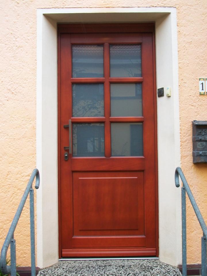 Haustür glas sprossen  Haustüren aus Holz